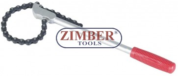 """Ключ за маслен филтър с верига за камиони 20"""" ( 508mm) ZR-36CW20 - ZIMBER TOOLS"""