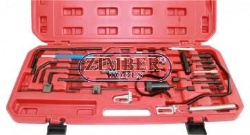 под наем - К-т за зацепване на двигатели Renault, Citroen,  Peugeot , Fiat, Ford, Nissan, Rover, Toyota (ZT-04176) - SMANN TOOLS под наем за -30 лв-за 24-Ч..