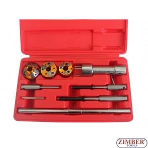 К-т инструменти за фрезоване легла на клапани 10 части, ZR-36VRST10 - ZIMBER-TOOLS