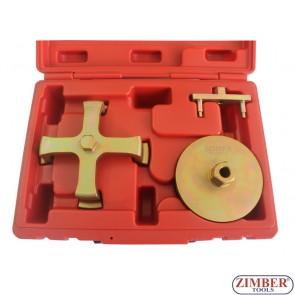 Ключ за капачкa на бензинова помпа к-т 3 части Mercedes BENZ W210, (W202) , ZR-36BFTS03 - ZIMBER -TOOLS.