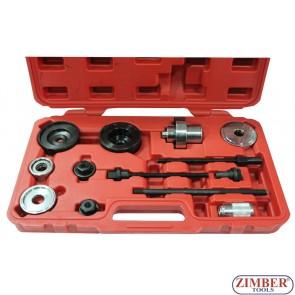 К-т за монтаж и демонтаж на втулки  и тампони за Audi, VW -13части - ZT-04771 - SMANN TOOLS