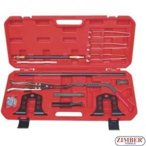 Сглобяема скоба за монтаж и демонтаж на пружини на клапани, ZR-36VSC05 - ZIMBER-TOOLS