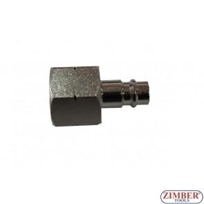 """Накрайник за въздух 1/2"""" (бърза връзка) - ZR-12APOF1201 - ZIMBER TOOLS"""