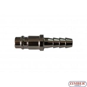 """Накрайник за въздух 5/16"""" (бърза връзка) Европейски тип  - ZR-12APOH51601 - ZIMBER TOOLS"""