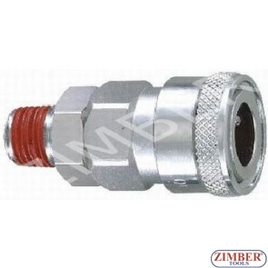"""Накрайник за въздух 1/2"""" ZDC-2 - ZIMBER"""