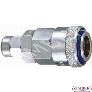 Накрайник за въздух 8X12мм ZL-40SPT, (Бърза връзка за въздух)  - ZIMBER