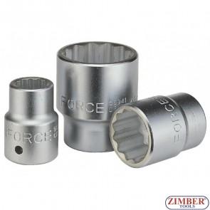 Вложка 22 мм 3/4 дванадесетостенна - FORCE (56922)