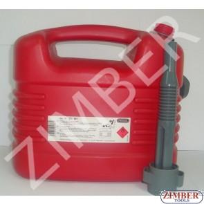 Туба за гориво 10л-Pressol - PR 21133 - ZIMBER - TOOLS.