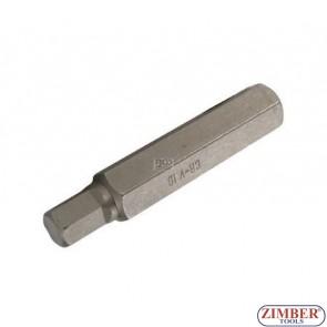 Накрайник шестостенен 14 мм, дължина 75 мм