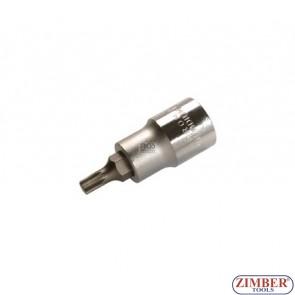 """Накрайник M5 на вложка, дължина 53 мм, 1/2"""" (ZB-4350)"""