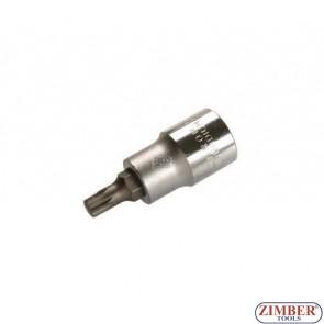 """Накрайник M7 на вложка, дължина 53 мм, 1/2""""(ZB-4355)"""
