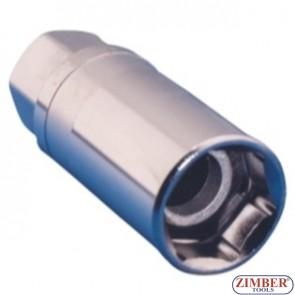 """Вложка за свещи с магнит 21мм 3/8"""" -ZR-04SP3821V01- ZIMBER TOOLS"""