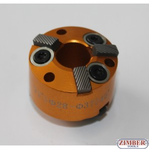Фреза за леглата на клапани 28-mm-37mm 75° и 45° (резервна част от к-т: ZR-36VRST, ZR-36VRST10) - ZIMBER-TOOLS.
