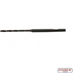 Бургия  2.6мм от комплекта  (ZR-36GPTS19) за вадене на скъсани подгревни свещи - ZR-41PGPTS1909, ZIMBER TOOLS