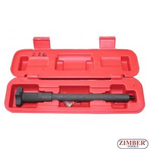 Ключ за вадене на месингови уплътнения (дефтунги) на дюзи на дизелови двигатели, ZK-226
