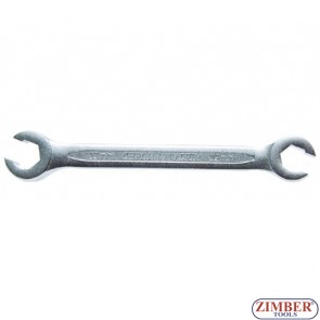 Ключ рязан за спирачни тръбички 12x13 мм,ZL-1761-12X13 - ZIMBER - TOOLS.