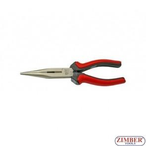 Клещи с дълги челюсти прави 160 мм-BGS (ZB-336)
