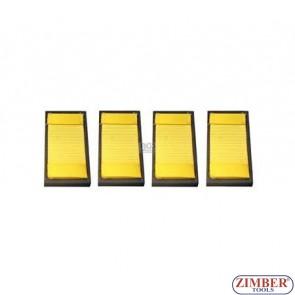 К-т накрайници за вакуумен държач 4 части