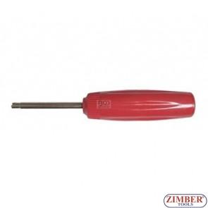Ключ-тресчотка за монтаж на вентили за гуми