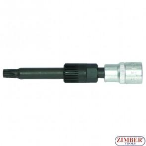 """Ключ за алтернатори 1/2"""" M10xН17х33Тх113 мм - ZR-36AWM10H17 - ZIMBER TOOLS."""
