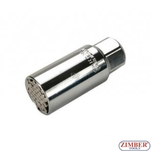 "Вложка 3/8"" универсална от 9-21мм, ZR-03SA3 - ZIMBER TOOLS"