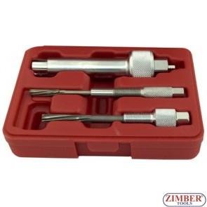 Иструмент за вадене на скъсани подгревни свещи за  Mercedes с двигатели CDI - 3 част,  ZR-25PHPPS03 - ZIMBER-TOOLS