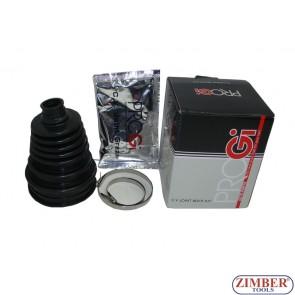 Универсален силиконов маншон за полуоски к-т с грес и скоби (ZR-36CVJBK) - ZIMBER - TOOLS.
