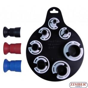 К-т скоби за разглобяване на бързи връзки  10 части -ZR-36FLDS10 - ZIMBER TOOLS