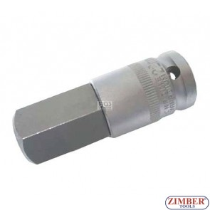 "Шестограм на вложка 1/2"", 22х70мм -Hexagon 22 mm (ZB-4295) - BGS technic"