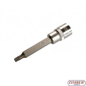 """Накрайник на вложка 1/2"""", М6х100мм - BGS, ZB-4360 ZIMBER - TOOLS."""