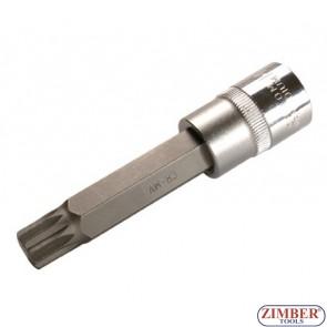 """Накрайник M18 на вложка, дължина 100 мм, 1/2"""" - BGS, ZB-4365 ZIMBER - TOOLS."""