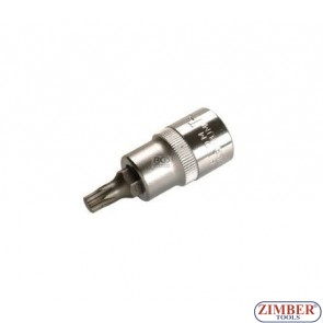 """Накрайник на вложка 1/2"""", Т40х53мм - BGS,ZB-4372 ZIMBER - TOOLS."""