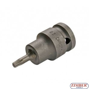 """Накрайник на вложка T25, 1/2"""" - BGS (ZB-5370)"""