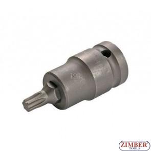 """Накрайник на вложка T40, 1/2"""" - BGS, ZB-5372 ZIMBER - TOOLS."""