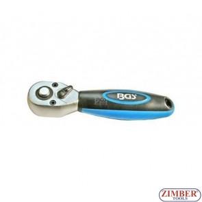 """Тресчотка мини 3/8"""", 72 зъба - BGS (ZB-209)"""