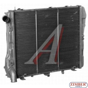Радиатор за вода меден Москвич 2141