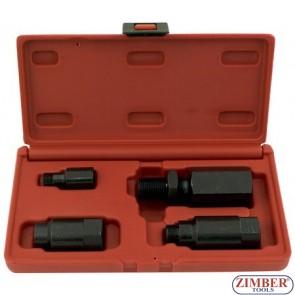 К-т за изваждане на инжектори Delphi, Bosch - ZIMBER-TOOLS