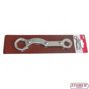 Специален ключ за мотоциклети 32mm, 27mm, 21mm, 17mm , 4 размера - ZR-36BW - ZIMBER-TOOLS