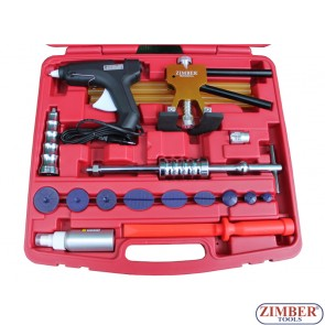 Спот чук за изправяне на вдлъбнатини по купето на автомобили к-т (ZR-36DDMK) - ZIMBER-TOOLS