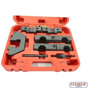 К-т  фиксатори за зацепване на разпределителителните валове на BMW  M40, M42, M50, M52, M60, M62, M70, M73, ZR-36ETTSB30 - ZIMBER TOOLS
