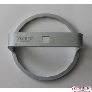 """Ключ за маслен филтър Man 1/2"""", 18 стени, 135mm (ZR-36OFWFM135) - ZIMBER-TOOLS"""