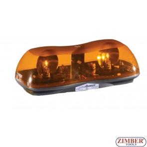 Сигнална лампа, Лайтбар  с магнит 12V - 42 см.