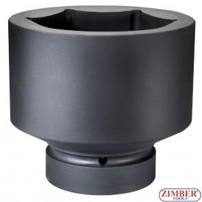 """Вложка ударна шестостенна 1"""" - 105mm - ZIMBER (ZR-08IS8105M)"""