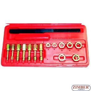 К-т инструменти за възстановяване на резби - ZR-36UURS - ZIMBER TOOLS.