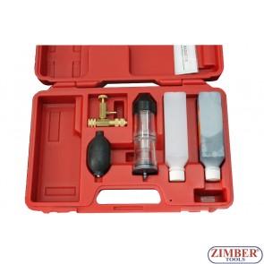 К-т за откриване за течове в охладителната система, ZR-36CLT02  - ZIMBER-TOOLS