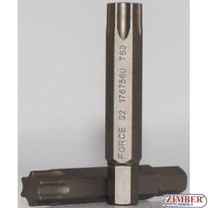 T40 75mm Бит накрайник (1767540) - FORCE