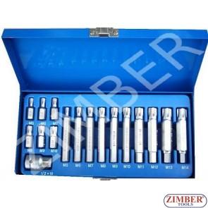 К-т накрайници RIBE - 17 части - ZIMBER (ZR-14BSRT1217)