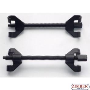 К-т скоби за демонтиране на пружини(макферсон) 370мм-ZIMBER