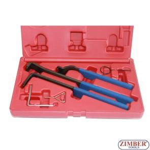 К-т инструменти за обтяжни ролки на VW, AUDI 1,9TDI PD, 1,4-TDI PD- ZIMBER-TOOLS