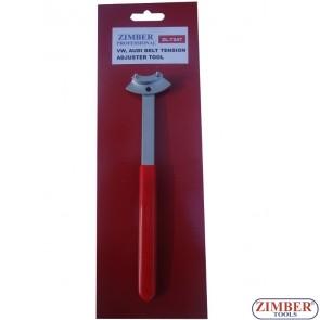 Ключ за обтягане на ролки AUDI ,VW - ZR-36BTAT01 - ZIMBER-TOOLS